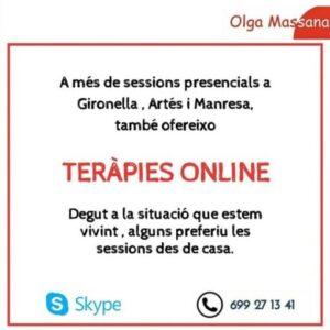 oferir teràpies online